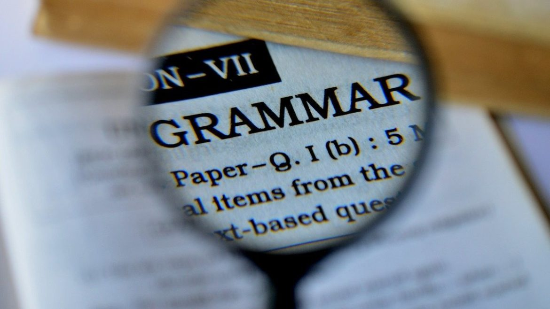 Oswoić gramatykę #1 – lista – tydzień 1